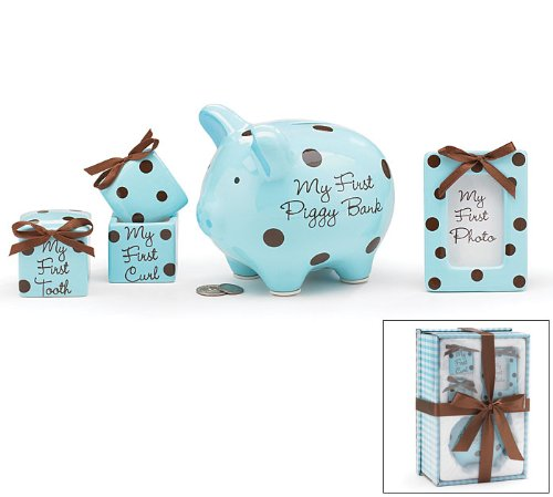 Baby Boy 4pcs Cute Gift Set * Piggy *