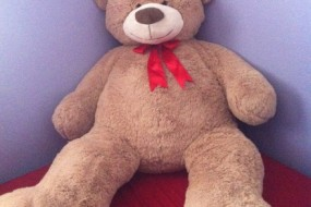 55″ Valentine Jumbo Plush Teddy Bear