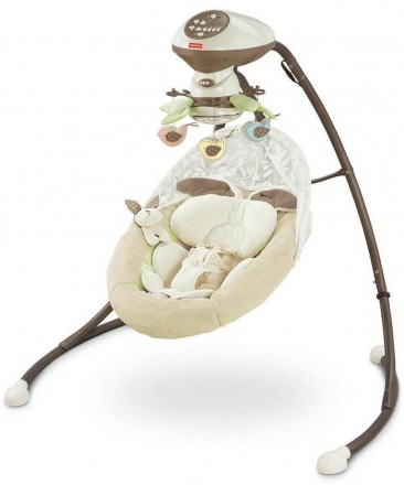 Fisher Price Little Snugabunny Cradle n Swing