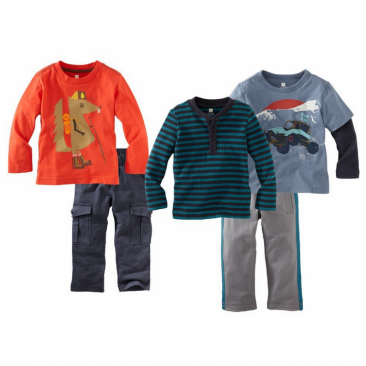 Tea Collection Baby-Boys Infant Off-Road Wanderer 5 Piece Set