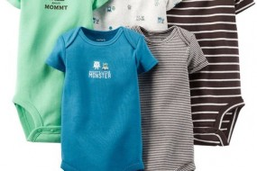 * Carter's * 5 pack Monster bodysuits
