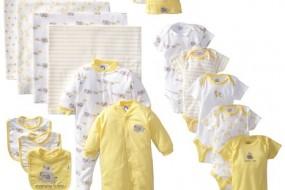 Gerber Unisex-Baby Newborn Unisex 19 Piece Essentials Gift Set