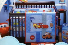 "Disney Car's ""Little Racer"" Four Piece Bedding Set by Disney"
