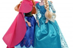 From the Movie Frozen Classic Set of Anna and Elsa Dolls, 11.5 Inches