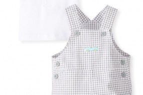 Little Me Baby-Boys Newborn Automobile Shortall Set
