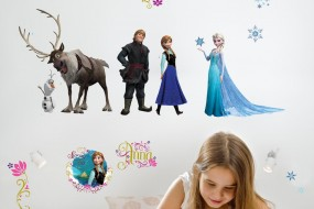 "Wall decorations "" Frozen """