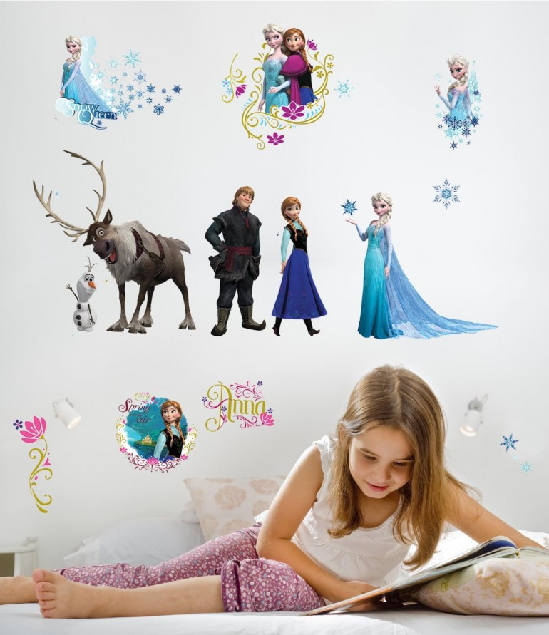 """Wall decorations """" Frozen """""""