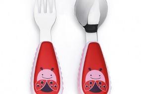 Skip Hop ZOO Fork and Spoon { Ladybug }