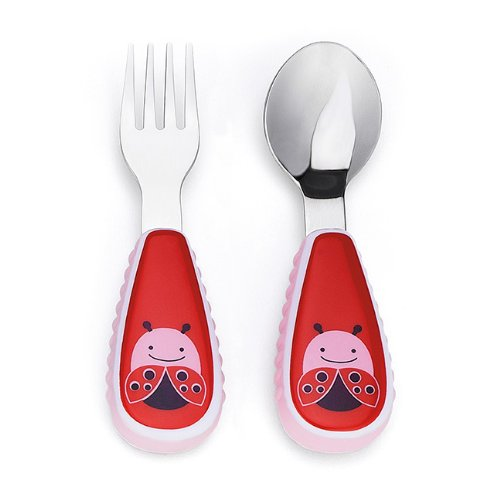 Skip Hop ZOO Fork and Spoon { Ladybug }