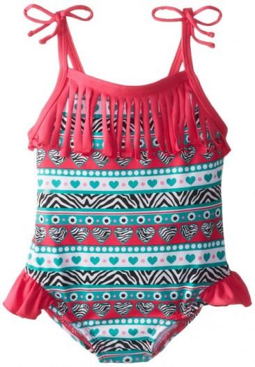 * Pink Platinum * Little Girls' One Piece swimsuit