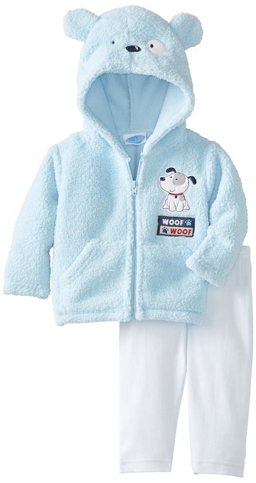Bon BEBE Cute and soft newborn baby boys jacked and pant set