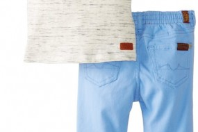 * Seven for All Mankind * Baby Boy Playwear set