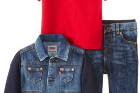LEVI'S baby boy cool Denim 3 pcs set for 12,18 and 24 months