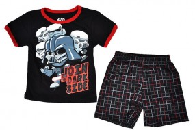 Toddler 2 Pieces Outfit Star Wars Set – T-shirt & Shorts From Disney