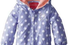 London Fog *** Baby Girl – Polka dot jacked for a little princess