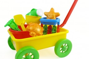 Beach Wagon Toy Set for Kids