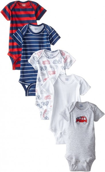 Gerber Baby-Boys Newborn Five-Pack