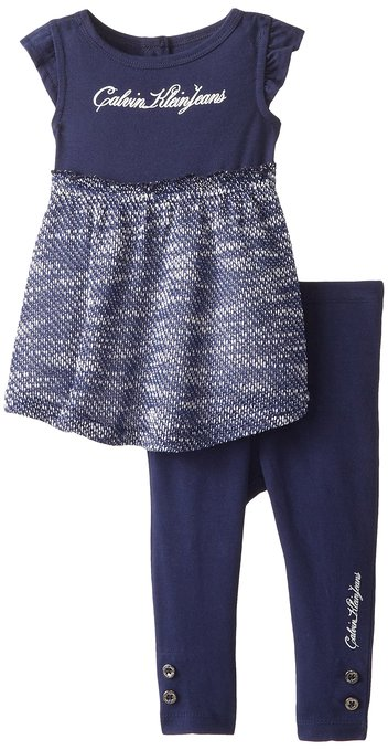 Calvin Klein Baby Girl set – Tunic and Leggings