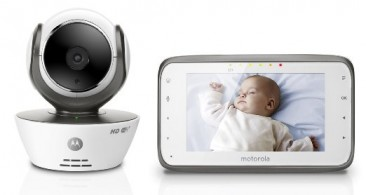 * MOTOROLA * (Baby Phone) Baby Monitor+Parent Monitor + Wi-Fi Internet Viewing
