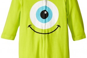 Disney Baby Boys Monster Inc Bodysuit with hook