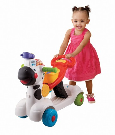 VTech Learning Zebra Scooter * 3-in-1 *