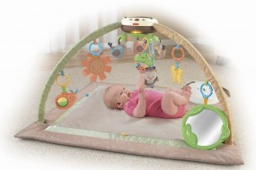 Fisher Price My Little Snugabunny Ultra Comfort Musical Gym