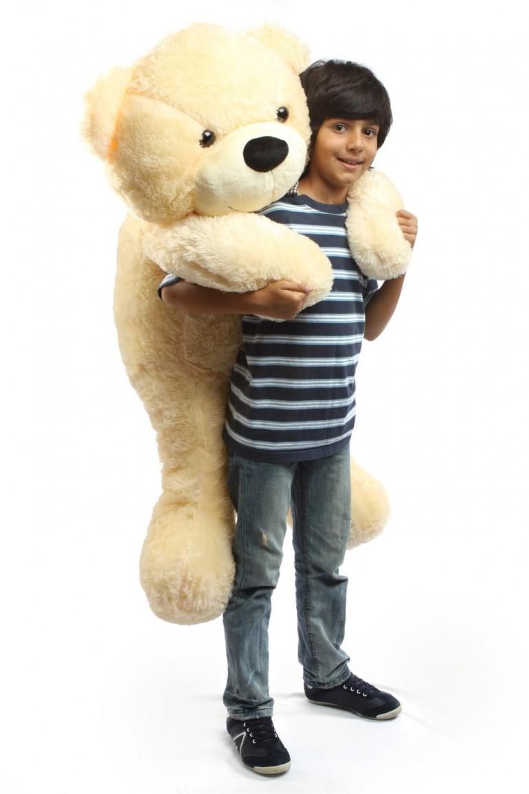 """Cozy Cuddles 47"""" Big Plush Teddy Bear"""