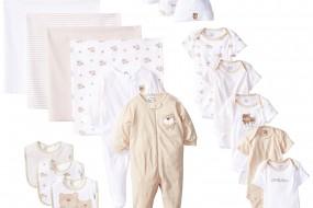 Gerber Unisex-Baby Newborn Unisex 19 Piece Cute Bear Gift Set