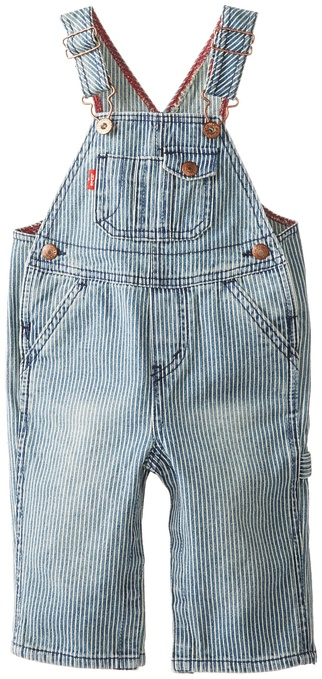 Levi's Baby-Boys Infant Overall W Snappy Tape