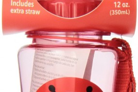 Back to School with Skip Hop Zoo Straw Bottle { Ladybug, 12 Ounce }