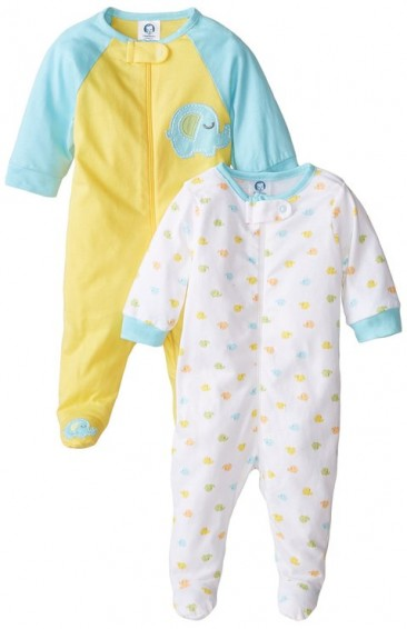 2 pack * Gerber * blanket sleep set for baby boys