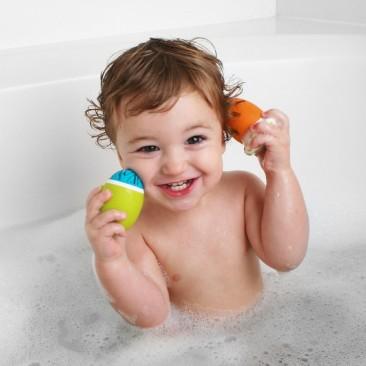 Boon Scrubble Interchangeable Bath Toy Squirt Set