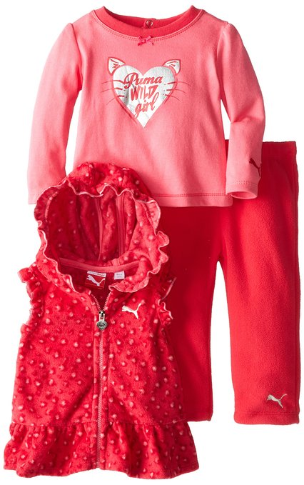 PUMA set for little baby girls – 60 % discount with our offer