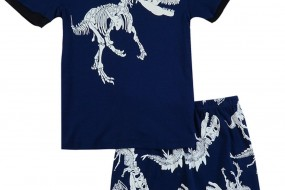 Cotton Sleepwear with Dinosaur for Boys – Sizes from Baby to Toddler